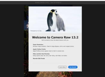 Обновление ADOBE Camera Raw 13.2